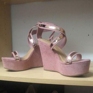 Pink platforms